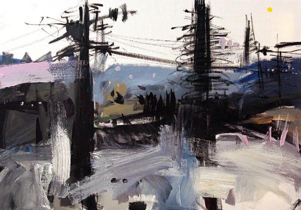 70x100cm / Acrylic on Canvas / 2013