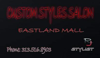 CUSTOM STYLE SALON BACK