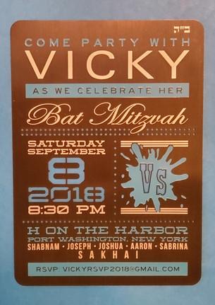 VICKY BAT MITZVAH