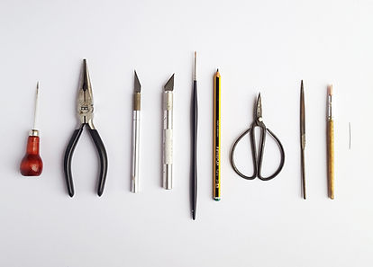 Tools used by artist Kate Kato | Kasasagi