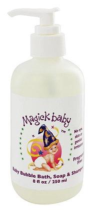 Baby Bubble Bath Soap & Shampoo