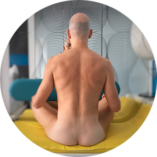 Men's Naked Yoga Meditation CUBU