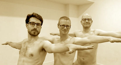 Men's Yoga Weekend Warrior 2 Group Naked CUBU