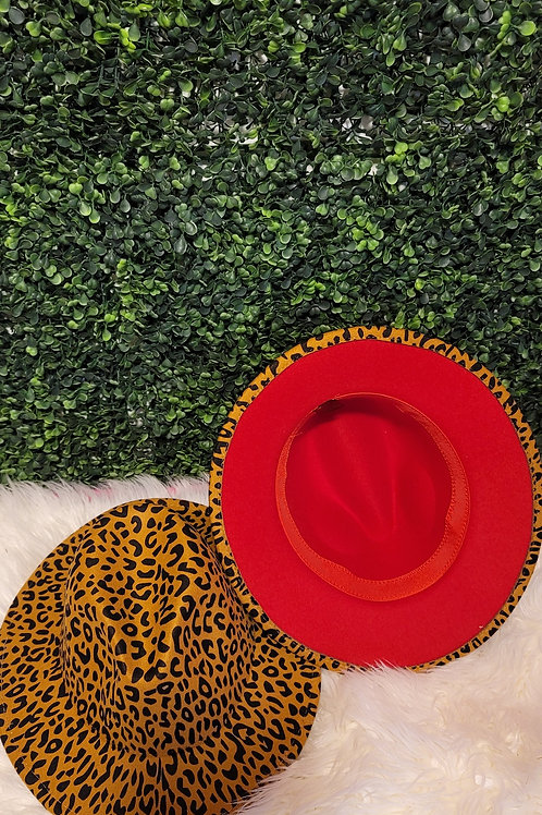 Cheetah Fedora