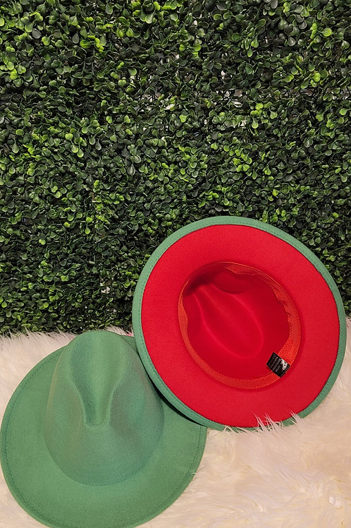 Forest Green Fedora