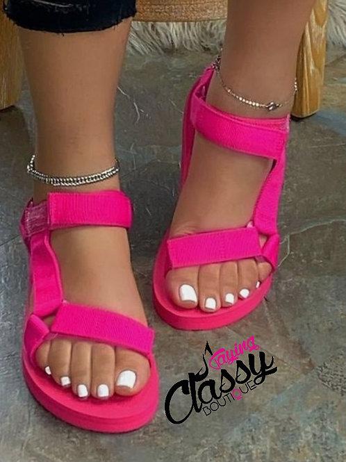Pink Strap Up