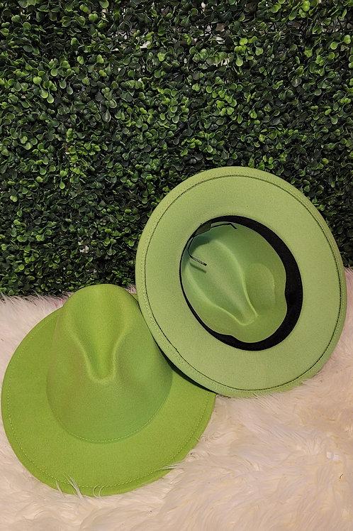 Lime Fedora