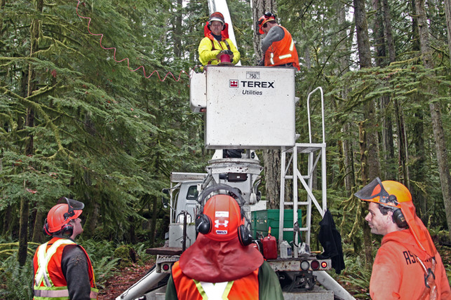 Bucket Truck Services Port Hardy