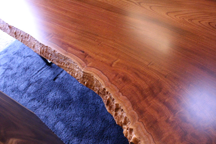 欅の玉杢 一枚板