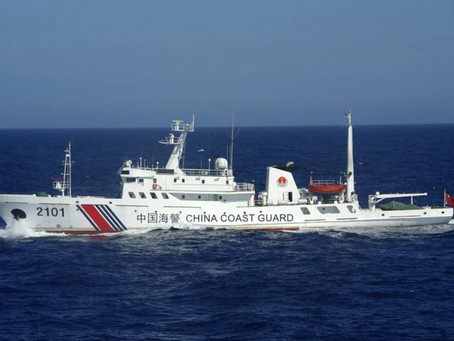 China Gives Extensive Powers to the Coast Guard
