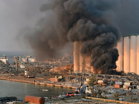 Igor Grechushkin, Ammonium Nitrate and the Mysterious Explosion in Beirut