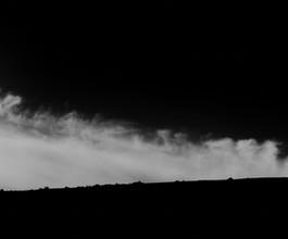 Cloud Smoke on Hillside, ND.  2021.