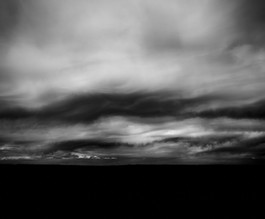 Clouds Forming in Monochrome.  2021.