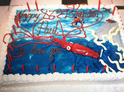 Giant Squid Cake