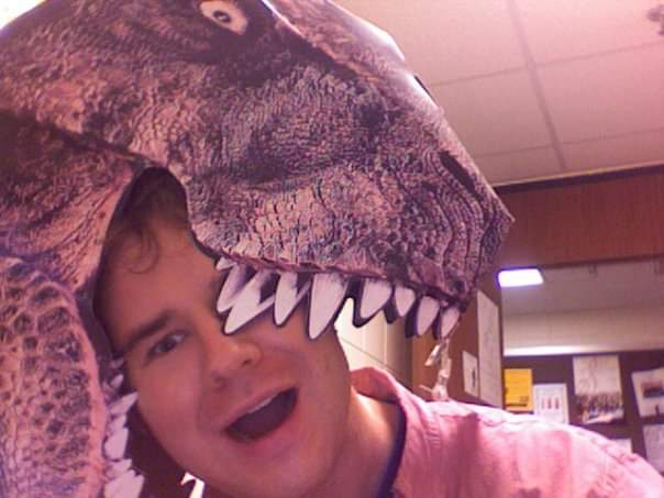 Me and my JP T. Rex