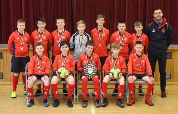 Sport Year 8 Football Winning Team JD Cr