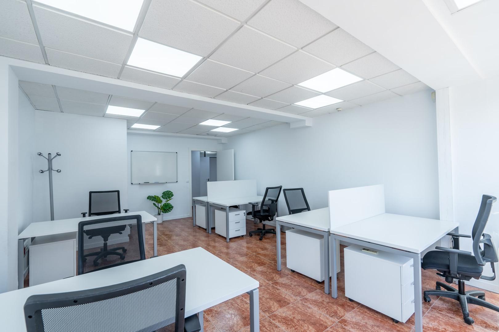 Oficina para 7 personas