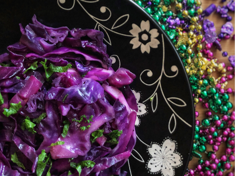 Sautéed Purple Cabbage