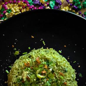 Creole Green Rice