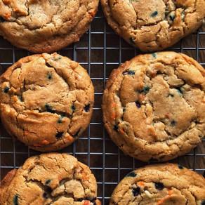 Spooky Sprinkle Cinnamon Cookies