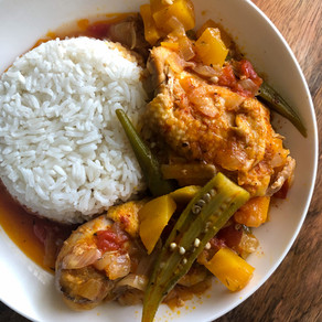 Muamba de Galinha (Angolan Chicken Stew)