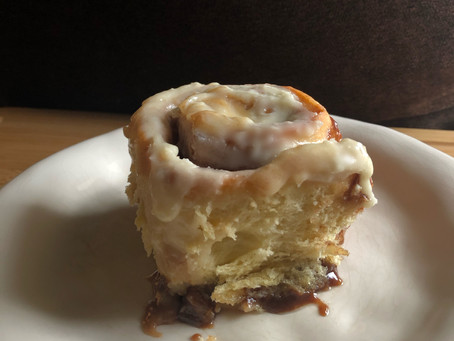 Just Enough Cinnamon Rolls