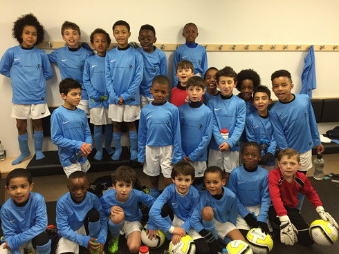 Looking for a kids football team