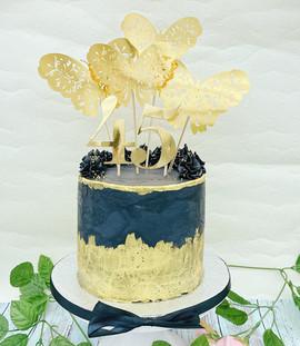 Golden Butterfly Torte