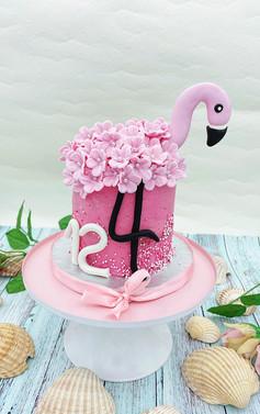 Flamingo_Torte