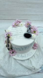 Love Music Hochzeitstorte