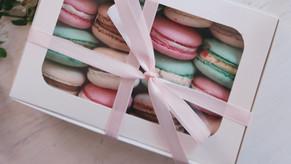 Kundengeschenk Macarons