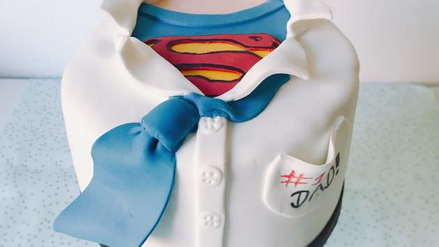 Superdad Torte
