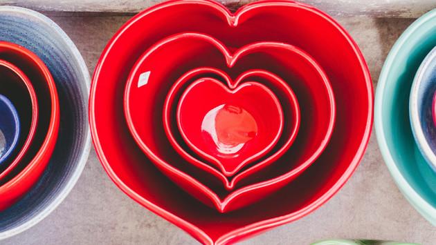 Herz Förmchen