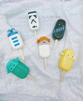 Star Wars Cakesicles