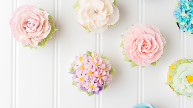 Individuelle Cupcakes