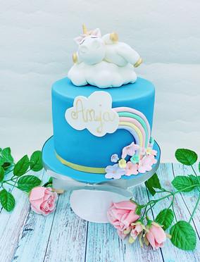 Pummelhorn Torte
