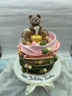 Cute Bear Cake