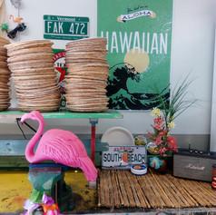 Hawaaii juhlien somistus ja suunnittelu