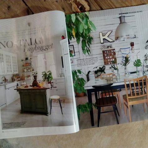 Kotikuvaus ruotsalaiseen Drömhem- lehteen