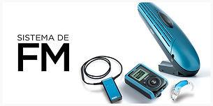 sistema fm, audifonos