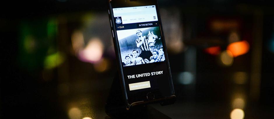 The NUFC website: a modern digital publisher platform