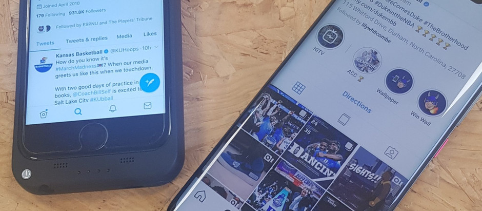 Four social media takeaways from March Madness