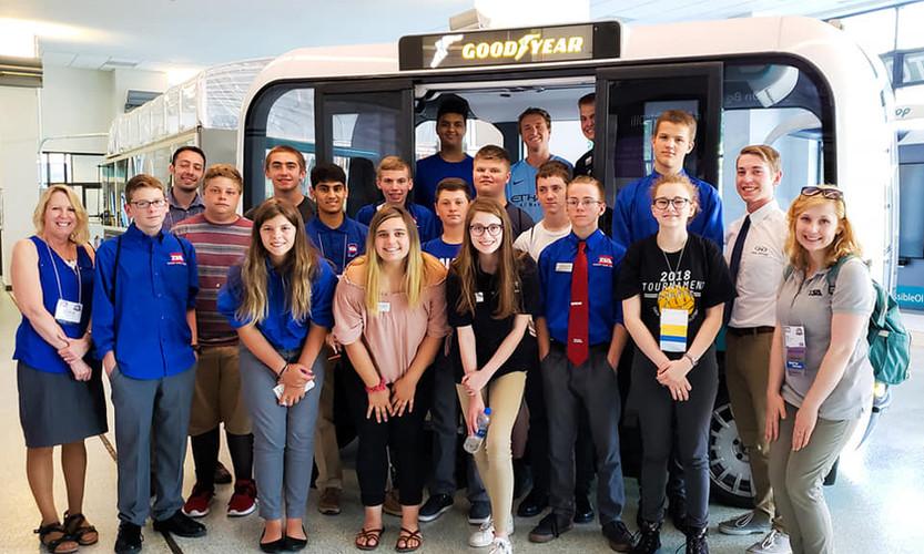 Tour of Local Motors & thir self driving bus Olli