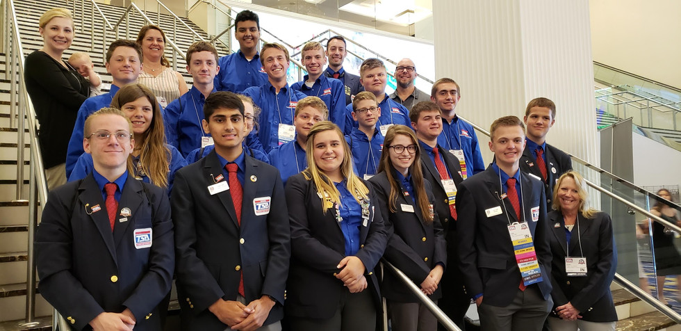 Team picture at Nationals