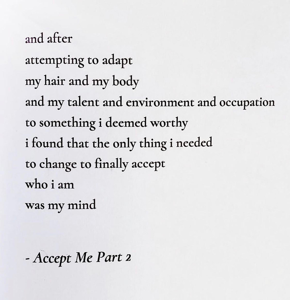 Page 91 of Dear Mirror: A Poetic Journey of Self-Reflection and Empowerment - Available on Amazon!