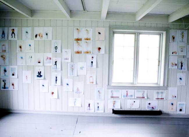 cathrine gilje,Sandnes kunstforening 2005