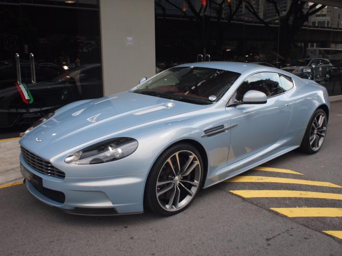 2012 Nov Aston Martin DBS