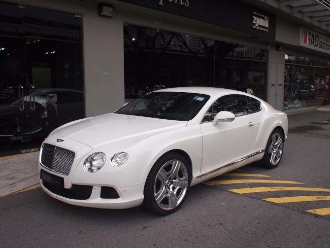 2011 Jul Bentley Continental GT