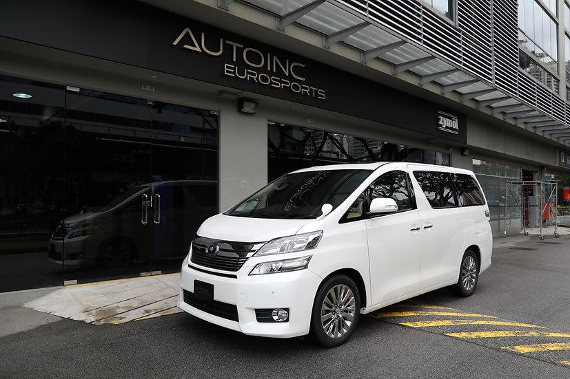 2014 Jan Toyota Vellfire 3.5V Premium Edition