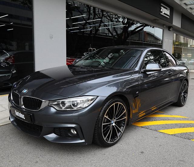 2017 Jan BMW 440i Convertible M-Sport